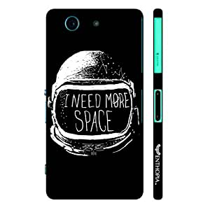 Sony Xperia Z3 Compact Need more Space designer mobile hard shell case by Enthopia