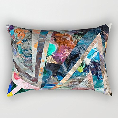 Loveloveu The Geometry Pillow Covers Of ,16 X 24 Inches / 40 By 60 Cm Decoration,gift For Shop,bedding,gril Friend,lover,husband,indoor (double