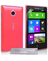 Yousave Accessories NO-KA02-Z325 Etui pour Nokia X Cristal Clair