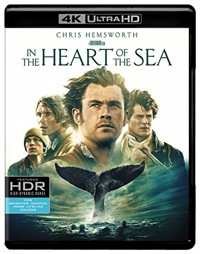 4K Blu-ray : In The Heart Of The Sea (4K Mastering, 2 Pack, 2 Disc)