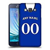 Case Fun Personalised Everton Football Shirt, Any Name, Any Number Snap-on Hard Back Case Cover for Samsung Galaxy A5 / A500 ( 2015)