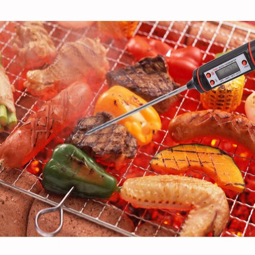 New 1.5V ℃/℉ Kitchen Bbq Digital Cooking Food Meat Probe Electronic Thermometer