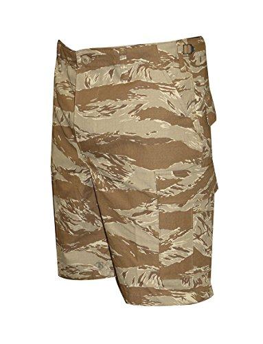 TRU-SPEC Men's BDU Zipper Fly Shorts, Original Desert Tiger Stripe, Medium/Regular Tiger Stripe Camouflage Shorts