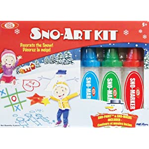 Sno-Paint Sno-Art Kit (styles and colors may vary)