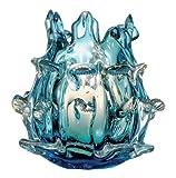 6 H Aqua Decorative Votive Candle Holder