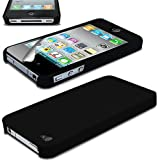 Black Ultra Thin Rubberized Matte Hard Case Cover for Apple iPhone 5