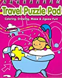 Travel Puzzle Pad Pink