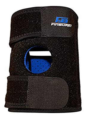 FinBurst Knee Brace - First Class Reinforced Support for ACL, MCL, Meniscus, Arthritis & more - Satisfaction Guaranteed