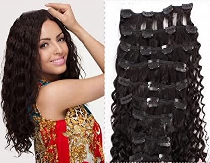Brazilian Curly Hair Extensions Clip in Clip in Human Hair Extensions