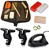Dual Snowboard and Ski Everything Kit Vise Iron Tools Wax and More by RaceWax
