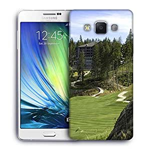 Snoogg Foreign Golf Park Designer Protective Phone Back Case Cover For Samsung Galaxy A7