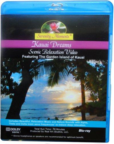 Serenity Moments: Kauai Dreams Scenic Relaxation [BLU-RAY Disc]