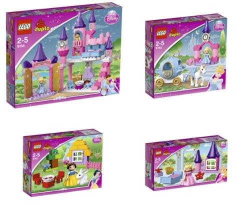 LEGO DUPLO PRINCESS Super Set - 6151 + 6152 + 6153 + 6154