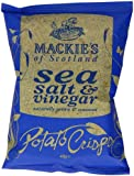 Mackie's of Scotland Sea Salt and Vinegar Potato Crisps 40 g (Pack of 24)