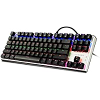 Emarth 6454233 Ergonomic Mechanical Gaming Keyboard (Black)