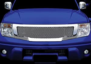 Amazon.com: Nissan Frontier Navara D40 05-09 Front Head Chrome Grid
