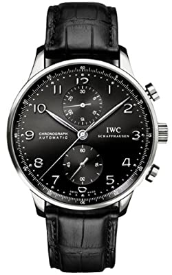 IWC Portuguese Men's Chronograph Automatic Watch - 3714-47