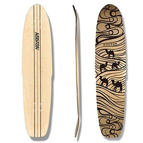 koston-longboard-dancing-freeride-deck-silk-road-440-x-9825-inch-ld293-kicktail-incl-clear-griptape