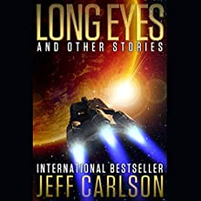 Long Eyes and Other Stories Audiobook by Jeff Carlson Narrated by Chris Snelgrove