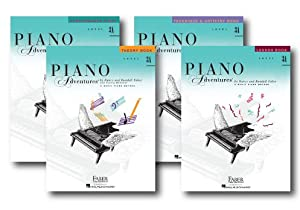 Faber Piano Adventures Level 3A Learning Library Pack Four