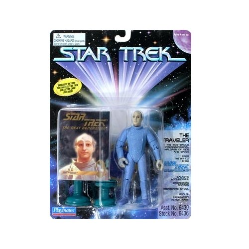 Star Trek: The Next Generation Series 5 The Traveler Action Figure - 1