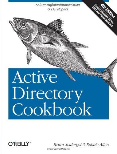 Active Directory Cookbook )