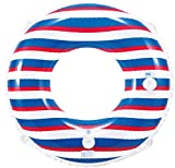 ヒオキ 浮き輪 マリンボーダーウキワ 80cm ランキングお取り寄せ