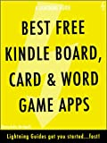 Best Free Kindle Board, Card, & Word Game Apps (Lightning Apps Book 1) thumbnail