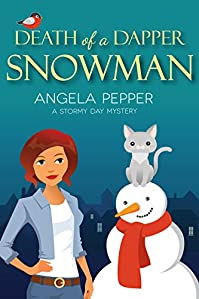 Death Of A Dapper Snowman by Angela Pepper ebook deal