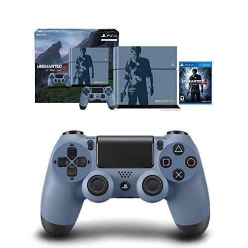 PlayStation-4-500GB-Console-Uncharted-4-Limited-Edition-Bundle-with-DualShock-4-Controller