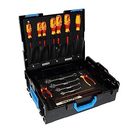 bosch gedore werkzeugkasten in l boxx gr 2 136 basic sortiment 16 tlg handwerkzeugset. Black Bedroom Furniture Sets. Home Design Ideas
