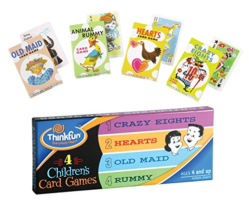ThinkFun 4 Children's Card Games