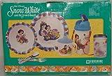 Snow White & 7 Dwarfs Dinner Ware Set. 7 Piece.