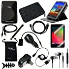 DigitalsOnDemand ® 14-Item Accessory Bundle for Google Nexus 7 Tablet - 8GB 16GB 32GB
