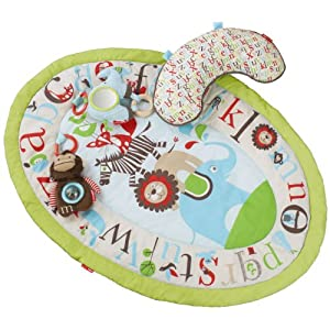 Skip Hop Tummy Time Mat, Alphabet Zoo