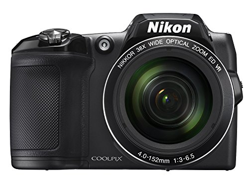 Nikon COOLPIX L840 Digital Camera with 38x Optical Zoom and Built-In Wi-Fi (Black) (Certified Refurbished) (Wi Fi Digital Camera compare prices)