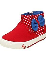 Zebra Girls Cotton Sneakers - B01EA4DJL8