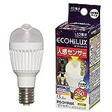 アイリスオーヤマ LED電球 人感センサー付 垂直 電球色 LDA3L-H-E17SV 250lm