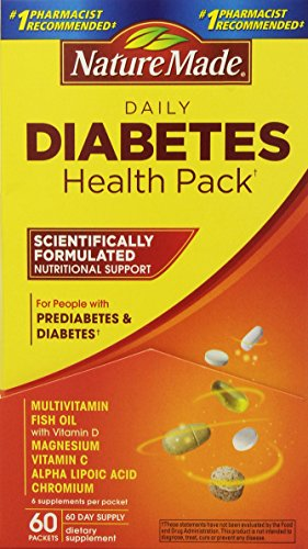 Nature Made Diabetes Health Pack, 60 Packets (Health Pack compare prices)
