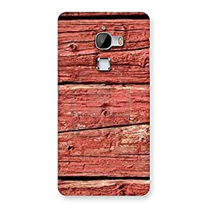 Stylish Pale Red Print Back Case Cover for LeTv Le Max