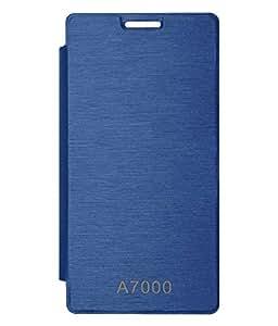 TBZ Flip Cover Case for Lenovo A7000 -Royal Blue