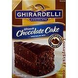 Ghirardelli Ultimate Chocolate Cake, (7 lbs)112-Ounce