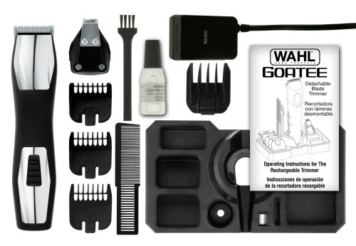 Wahl 9855-100 Rechargeable Goatee Trimmer