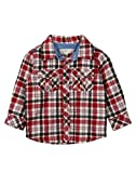 Beebay Check Yarn Dyed Shirt (C4915207721126_Maroon Check_12-18M)