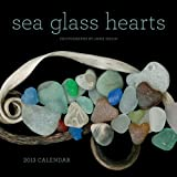 Sea Glass Hearts 2013 Wall Calendar
