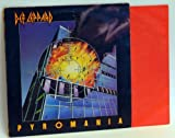 Def Leppard Def Leppard Pyromania. Rare first UK press on Vertigo 1983