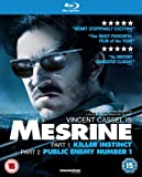 Mesrine - Parts 1 & 2 [Blu-ray] [2009] [Reino Unido]