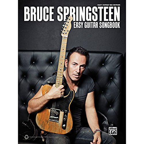 Alfred Bruce Springsteen - Easy Guitar Tab Songbook back-840830