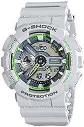 Casio Men's GA-110TS-8A3CR G-Shock Grey Watch