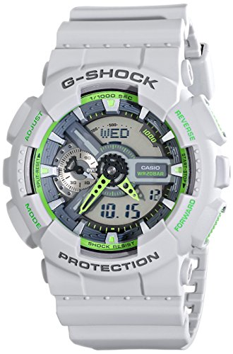 Casio Men's GA-110TS-8A3CR G-Shock Grey Watch